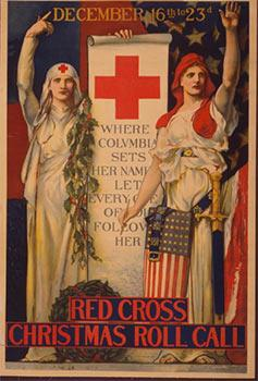 Red Cross Christmas roll call December 16th to 23rd [1918- World War I] First edition.