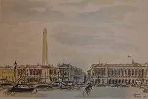 Place de la Concorde, Paris.: Herve Baille.