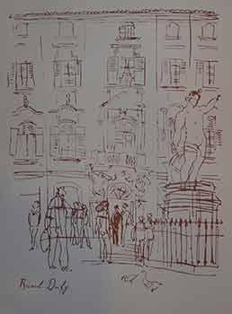 Paris Street Scene, Silk Screen.