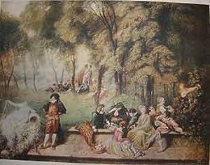 Pleasures of Love.: Antoine Watteau.