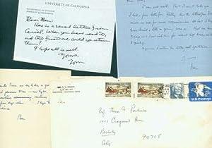 ALS B. H. Lehman to Thomas Parkinson,: Benjamin Harrison Lehman