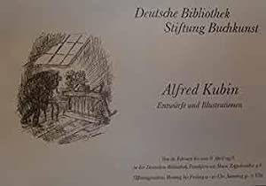 Alfred Kubin Entwurfe und Illustrationen, Feb 16 to April 8, 1978. (Exhibition Poster).