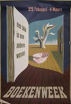 Boekenweek. (Exhibition Poster).