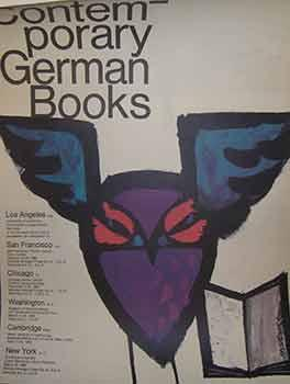 Contemporary German Books. (Exhibition Poster).