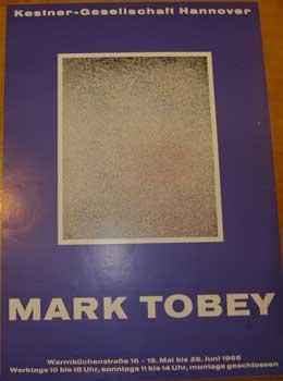 Mark Tobey. Exhibition poster. Hannover