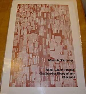Mark Tobey. Exhibition poster. Basel.