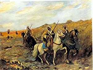 Arabs with Rifles on Horseback. I.