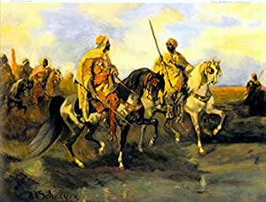 Arabs with Rifles on Horseback. II.