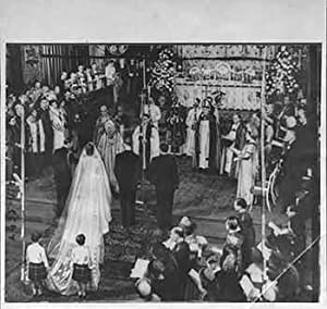 The scene in Westminster Abbey During Wedding: Allied Newspapers LTD.