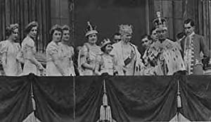 The Coronation. The scene on the balcony: Allied Newspapers LTD.