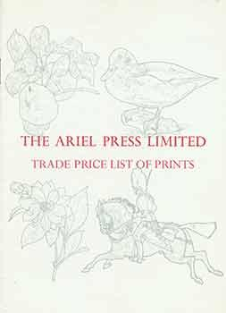 The Ariel Press Limited Trade Price List of Prints.