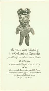 Prospectus for The Natalie Wood Collection of Pre-Columbian Ceramics from Chupicuaro, Guanajuato, ...