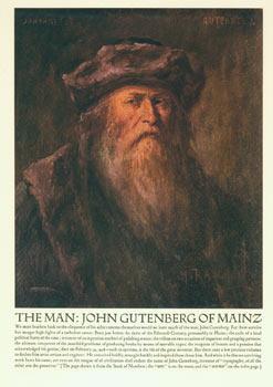 Gutenberg : a reproduction of a portrait: Henry Raschen; John