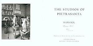 The Studios of Pietrasanta. Limited Edition. Signed.: Bol, Hans