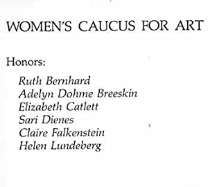 The Women's Caucus for Art. 3rd Annual: Women's Caucus for
