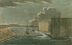 View of the Wet Docks from Blackwall.: Laurie & Whittle,