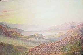 Death Valley.: Gerome, Hal.