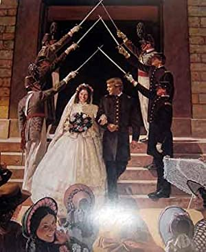 Wedding at West Point. (Limited Edition Poster). (Signed by the artist and hand numbered 1244 out...