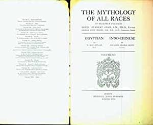 The Mythology of All Races in Thirteen Volumes. Volume XII (12) Only: Egyptian By W. Max Muller a...