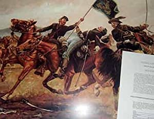 Medal of Honor: 6th US Cavalry 1863. (Limited Edition Poster). (Signed by the artist and hand num...