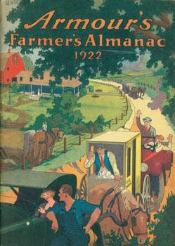 Armour's Farmers' Almanac 1922.