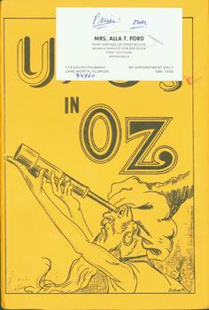 Unusual Flying Objects in Oz. Limited Edition,: Ford, Alla T.;