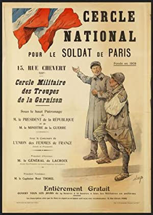 Cercle National pour le soldat de Paris. First edition.
