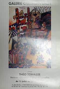 Theo Tobiasse : du 11 Juillet au: Theo Tobiasse.