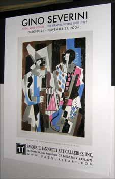 Gino Severini, Form and Color: The Graphic Works 1909-1965, October 26-November 25, 2006. Featuri...