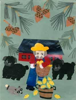 Untitled farm scene.: Deedy, Joyce.