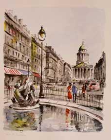 Paris, Le Panthéon.: Lelong, G.