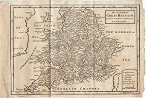 The South Part of Great Britain Divided into its Counties, with Roads &c.: Moll, H.