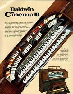 Baldwin CInema III and Studio III.: Baldwin Piano &