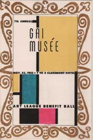 Gai Musée. Art League Benefit Ball.: Art League of the East Bay.