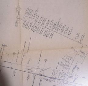 Map of Oakland Railroad Yard Limits, California.: Southern Pacific Lines (San Francisco, Calif.).
