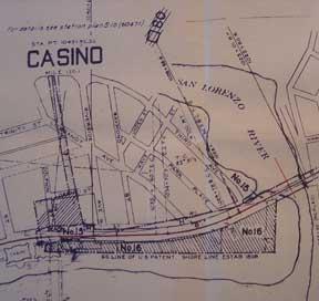 Right of Way and Track Map, Watsonville Junction to Santa Cruz, Santa Cruz County, California.: ...