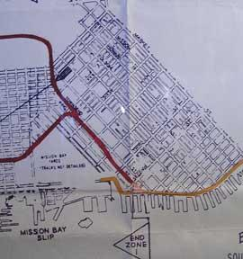 Industry Map and Switching Limits Map of San Francisco and Vicinity, San Francisco County, CA.: ...