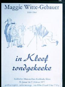 In Kleef rondgekeeke.