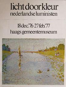 Licht door kleur nederlandse luministen.: Toorop, Jan.