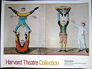 Harvard Theatre Collection. Theatre of Marvels, Popular Entertainments on Boulevard and Fairgroun...