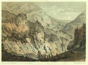 Sortie vers Genève du tunel du Crédo: Guesdon, Alfred.