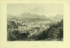 Lucerne.: Bartlett, William Henry.