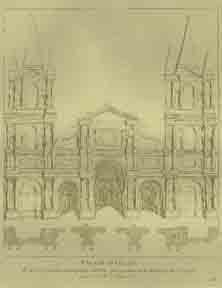 Façade d'Église.: Caylus, Anne-Claude-Philippe de Tubières after Raphaël.