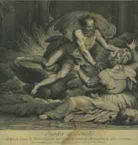 Jupiter et Sémélé.: Haussart, Jean after