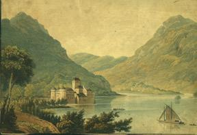 Castle of Chillon.: Anonymous.