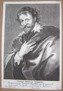 Petrus Paulus Rubbens [i.e. Peter Paul Rubens].: Man, Jacobus de, after Anthony Van Dyck.