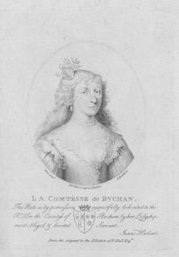 La Comtesse de Buchan.: Harding, E. after Oliver.