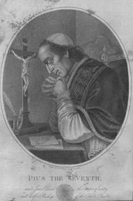 Collection of Engravings of Popes, One Nun, and One Mystic.: Minasi, Van der Gucht, et al.