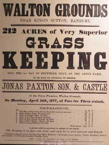 212 Acres of Very Superior Grass Keeping.: Paxton, Jonas &