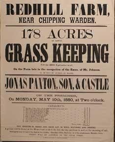 178 Acres of Capital Grass Keeping. Redhill: Paxton, Jonas &